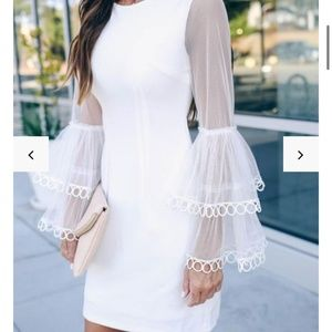 Vici White Dress
